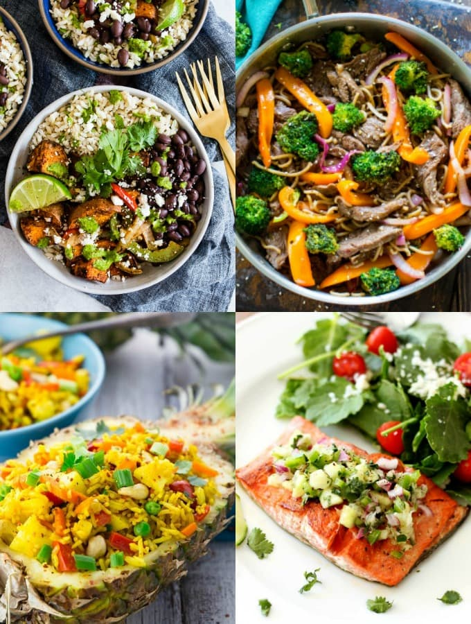 The Best 35 Easy and Healthy Weeknight Meals